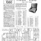 Vidor CN411 CN-411 Lido Vintage Wireless Service Information