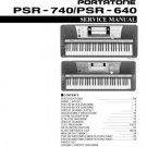 Yamaha PSR740 PSR-740 Service Manual