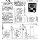 Ultra 105 Vintage Wireless Repair Schematics etc