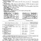 Ultra T406 T-406 Vintage Wireless Repair Schematics etc