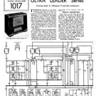 Ultra Ultragram 51 Radiogram Repair Schematics etc