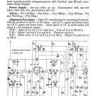 Ekco ARG168 ARG-168 RadiogramTechnical Repair Schematics etc