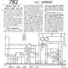 Ekco AW119 AW-119Technical Repair Schematics etc
