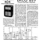Ekco B39 B-39Technical Repair Schematics etc