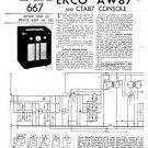 Ekco CTA87 CTA-87Technical Repair Schematics etc