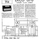 Ekco U76 U-76Technical Repair Schematics etc