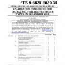 Tektronix DM502 DM-502 Calibration Procedure