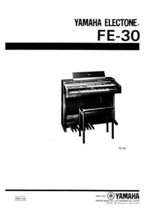 Yamaha FC3 FC-3 Service Manual