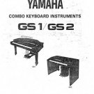 Yamaha GS1 GS-1 Service Manual