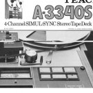 Teac A3340S A-3340S Operating Guide