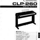 Yamaha CLP260 CLP-260 Service Manual