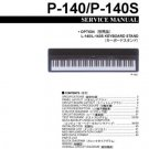 Yamaha P140 P-140 Service Manual