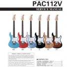 Yamaha PAC112V PAC-112V Service Manual