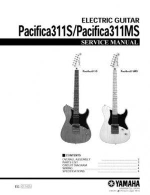 Yamaha Pacifica 311S Service Manual