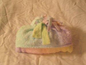 Unique Fleece Baby Wrap Blanket Pastel