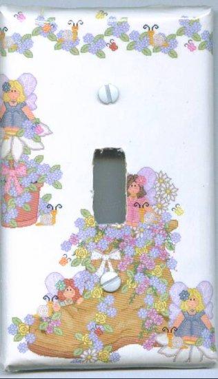 Little Fairies Light Switch Cover