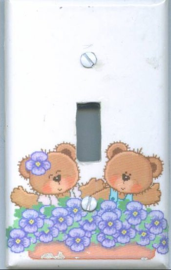 Happy Bears Light Switch Cover