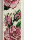 STERLING SILVER ROSES Handmade Seed Bead Bracelet