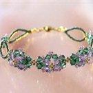 Unique Violet Bracelet