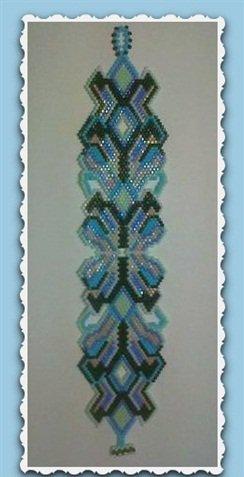 Handmade Beaded OCEAN SPLENDOR Bracelet