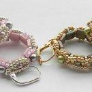 1- Pair Handmade Beaded Pearly Bay Earrings