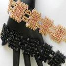 1-Handmade Beaded Eclipse Bracelet