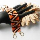 Handmade Beaded Tila Bracelet