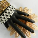 Handmade Beaded Tila Stacker Bangle ( 3 Set )