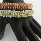 1- Handmade Beaded Macarena Bangle