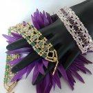 1- Handmade Beaded Renaissance Tila Bracelet