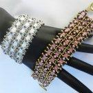 1- Handmade Beaded Lacy Lucy Bracelet