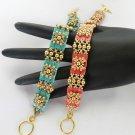 1- Handmade Tila Tiles Bracelet