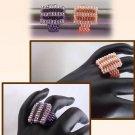 1- Handmade Beaded Mini Blockbuster Ring