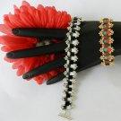 1- Handmade Beaded Jester Tila Bracelet