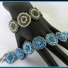 1- Handmade Beaded Hollywood Bracelet