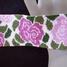 Handmade Garden Peyote Bracelet Cuff