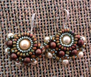 Handmade Beaded Chiquita Earrings