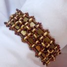 Handmade Beaded Tila Twins Bracelet