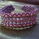 Handmade Beaded Pillar Bracelet