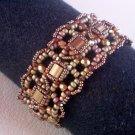 Handmade Beaded Tila Classic Bracelet