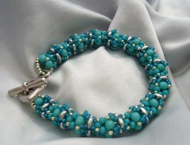 Handmade Beaded Babiole Bracelet