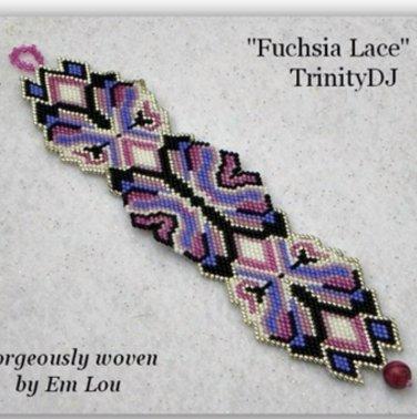 FUCHSIA LACE