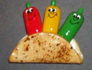 Tacoteers (Red/Yellow/Green Chile)