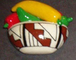 Beautiful Handpainted Chile Indian Pot