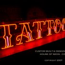 CUSTOM TATTOO NEON SIGN INK -NEON SIGNS- Family Trade Since 1935
