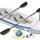 Sea Eagle 330 Inflatable Kayak Includes Seats Paddles and Pump SE330K_P