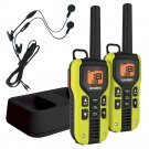 Uniden 40 Mile FRS/GMRS Two-Way Radio w/Li-Ion Charger & Headsets - 2PK GM