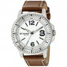 Columbia Men's  Ridgeback Brown Leather Strap Watch CA025-200