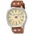 Columbia Men's Cornerstone Leather Silicone Strap Watch CA018-220