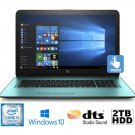 "HP Pavilion 17-X101DS 17.3"" i3-7100U 2.3GHz 2TB 8GB DVDRW Touchscreen Laptop"